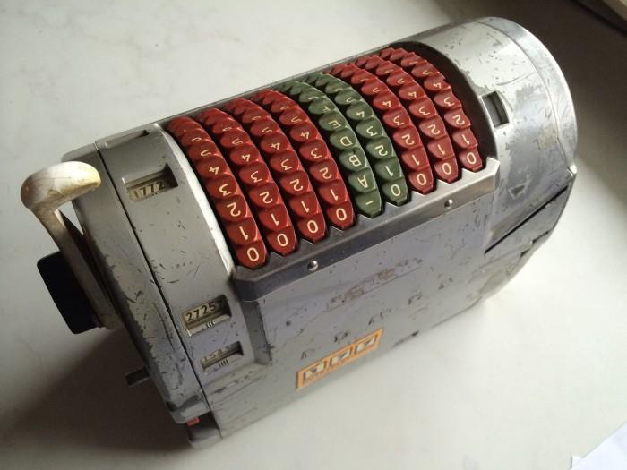 Almex billettmaskin