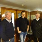 Øyvind, Arne Glenn og Bjarne