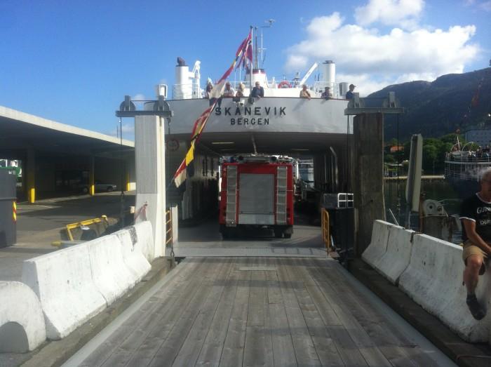 Brannbiler ombord