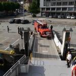 Veteranbrannbiler ombord for tur til Møkster