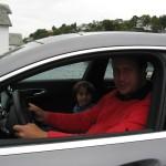 Ordføreren i Austevoll kjører på slisker